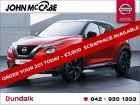 NEW JUKE 1.0T SV DCT AUTO *FINANCE AVAILABLE WITHIN 1 HOUR*