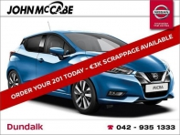 NEW MICRA 1.0T SV CVT AUTO 5DR *FINANCE AVAILABLE WITHIN 1 HOUR*
