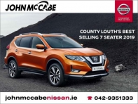 ORDER YOURS AT JOHN MCCABE NISSAN TODAY STARTING FROM 35,200 - UP TO 5,500 SCRAPPAGE