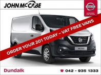 NEW NV300 LWB L2H1XE 120BHP *FINANCE AVAILABLE WITHIN 1 HOUR*