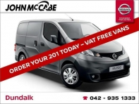 NEW NV200 *FINANCE AVAILABLE WITHIN 1 HOUR*